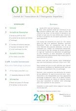 OI Infos 85 (janvier 2013)