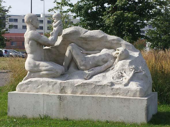 Statue CHU Amiens