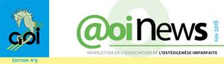 Newsletter n°9 -  Mai 2018